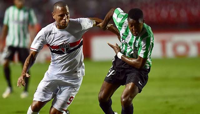 Atletico Nacional vs Sao Paulo en vivo Copa Libertadores Semifinal