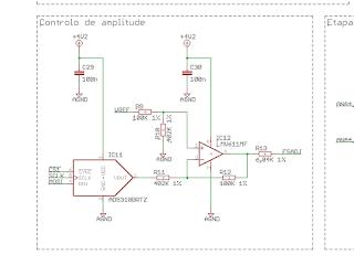 Circuito de controlo de amplitude.