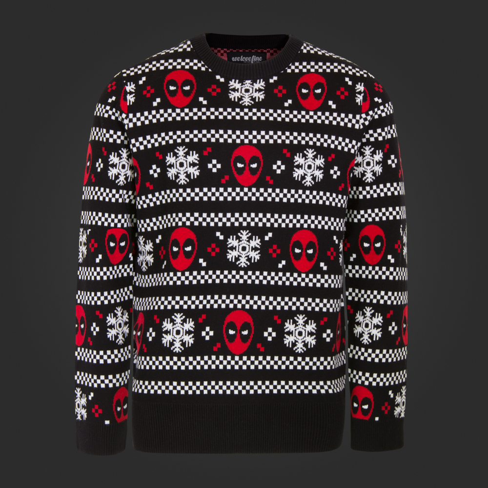 Deadpool Christmas Sweater | Deadpool Bugle