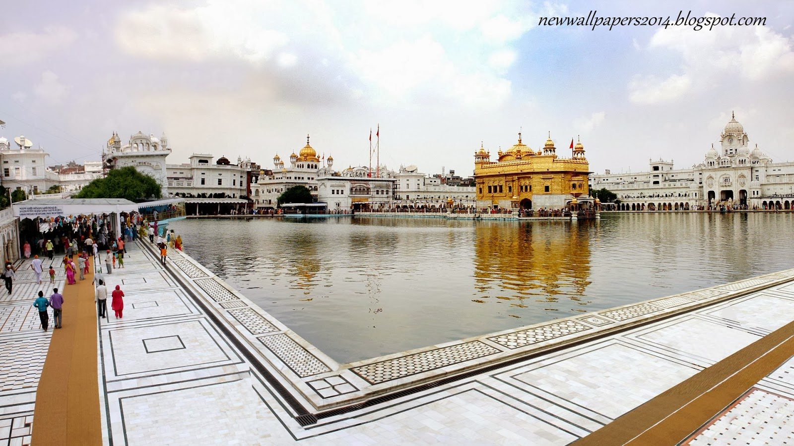 The golden temple harmandir sahib hd wallpapers 2014 - Golden temple images hd download ...