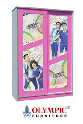 daftar harga lemari pakaian, Harga Lemari Olympic Terlaris Seri Coboy Junior 2015, katalog lemari olympic terbaru, lemari olympic 3 pintu, lemari olympic furniture, lemari pakaian olympic murah,