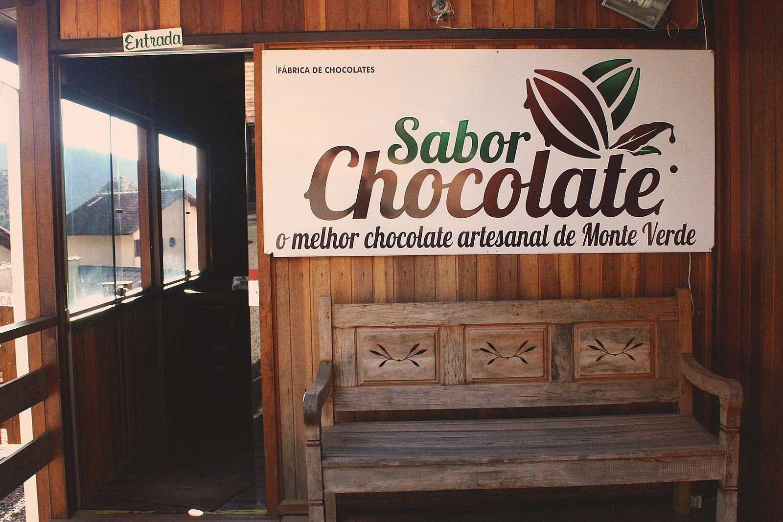 fachada fábrica sabor chocolate monte verde