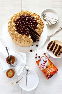 Chocolade-karameltaart