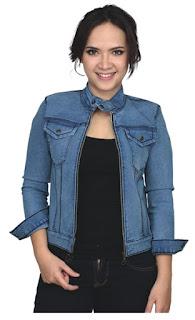 jaket jeans wanita, jaket jeans wanita murah, jaket jeans wanita terbaru, jaket jeans bio blits