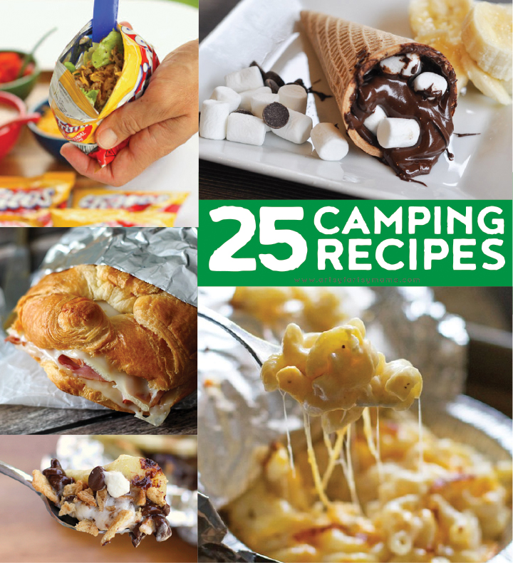 25 Camping Recipes to make this summer at artsyfartsymama.com