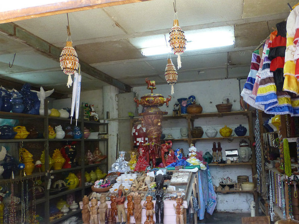 A shop in Havana, Cuba selling Santería items