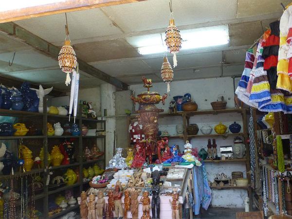 A shop in Havana, Cuba selling Santería items