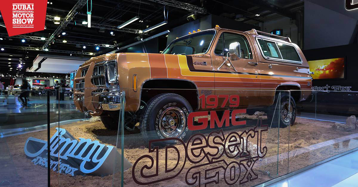 Gmc Sierra Desert Fox Resurfaces Among The Dunes Of Dubai