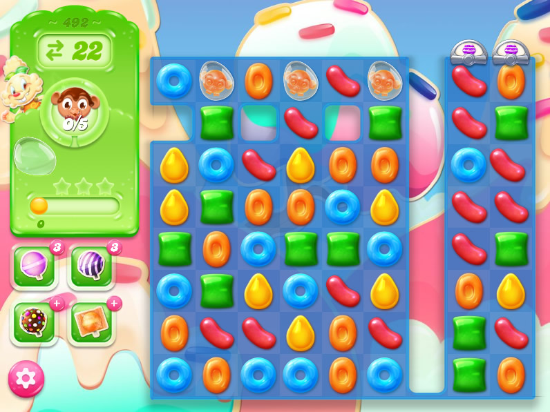 Candy Crush Jelly Saga 492