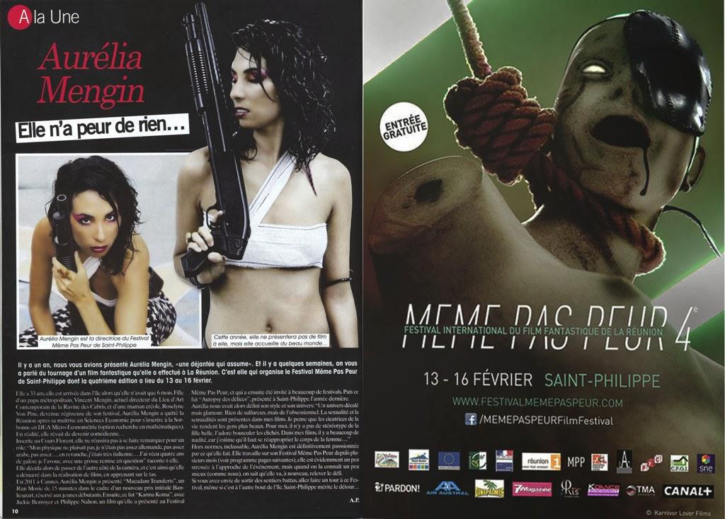 Festival MEME PAS PEUR dans 7 Magazine