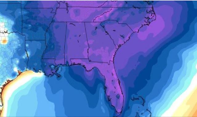 Fuerte ola de frió afectara al estado de Florida