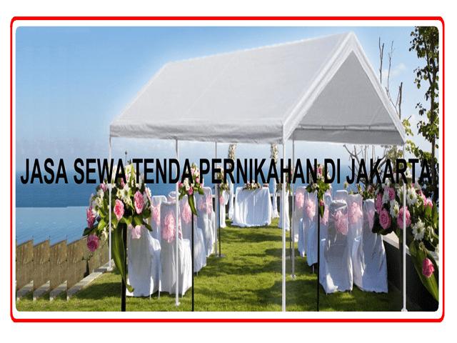 JASA SEWA TENDA PERNIKAHAN DI JAKARTA