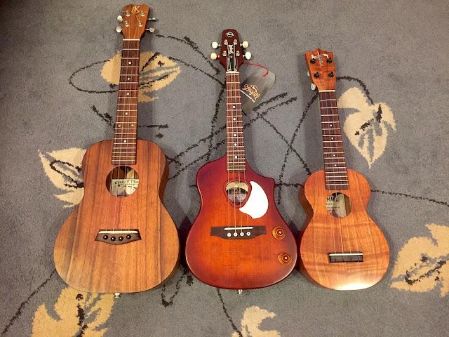 seagull ukulele size comparison