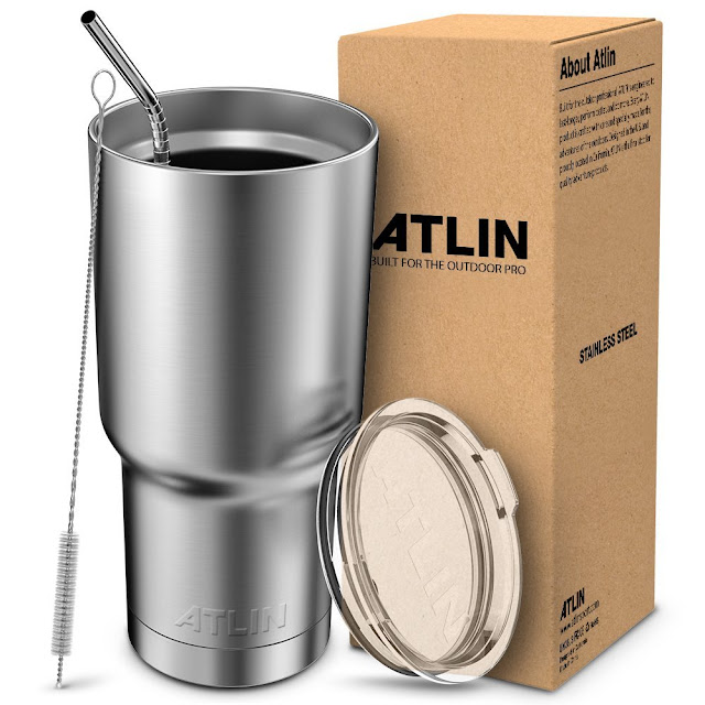 Amazon: Atlin Double Wall 30oz Tumbler only $11 (reg $30)!