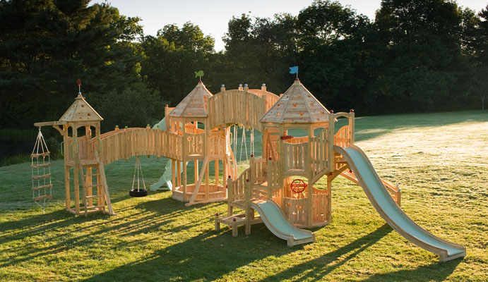 Best Loved Child: Money No Object Swing Sets - Cedarworks ...