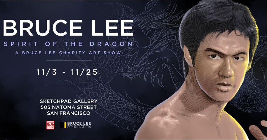 Most Badass Art Show Ever Pays Tribute To Bruce Lee
