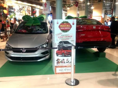 Bangu Shopping vai sortear dois carros 0km no Natal