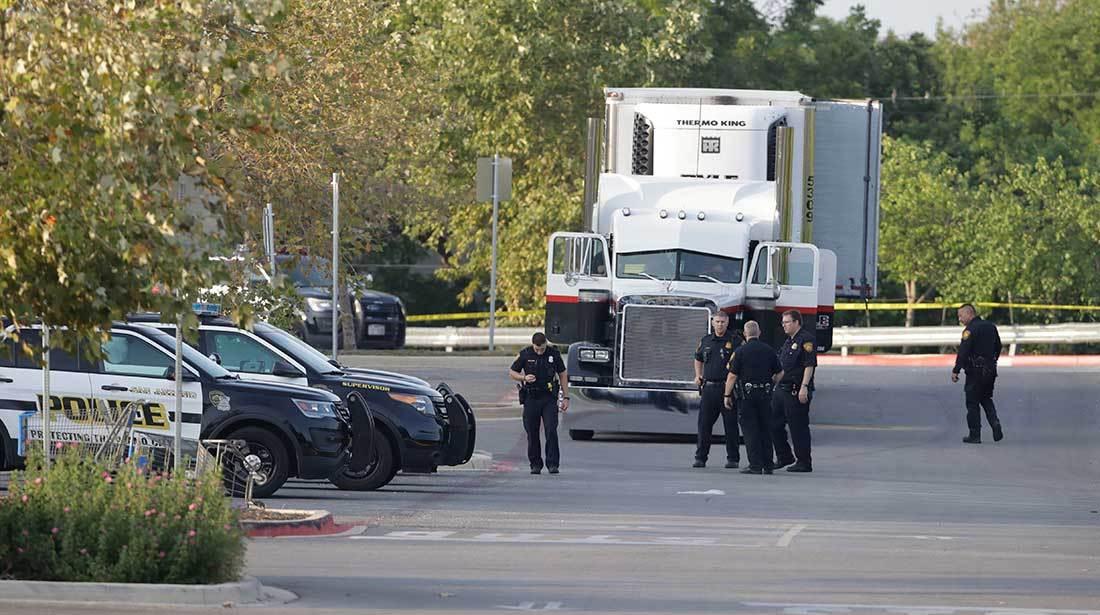 El trailer fue reportado en un wallmark y el chofer podría enfrentar pena capital