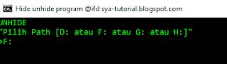 Download Program untuk mengatasi virus Shortcut