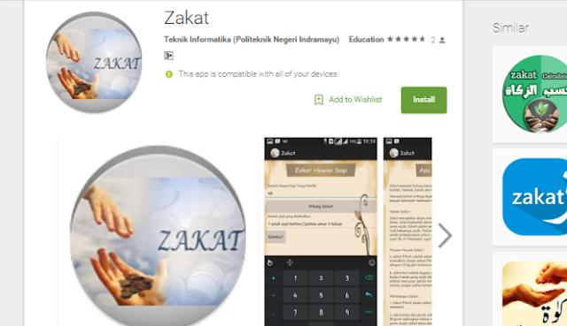 Lima Aplikasi Android Gratis Untuk Menghitung Zakat