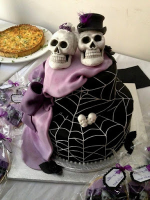 gothic wedding decorations