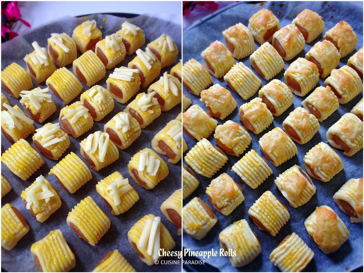 Food Paradise Extra Cheesy Recipes