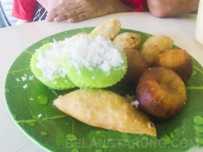 makanan sampingan coconut shake klebang