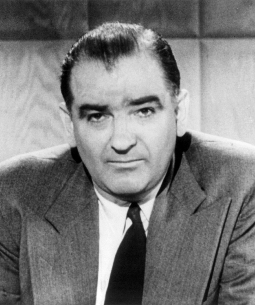Arguably the most successful conspiracy theorist inwards U Joseph McCarthy