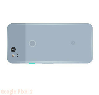 Back view of the Google Pixel 2