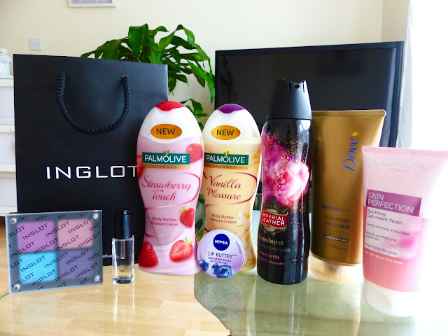 Kosmetyczny Haul - Inglot, Palmolive, Nivea, Imperial Leather, Dove i L'oreal