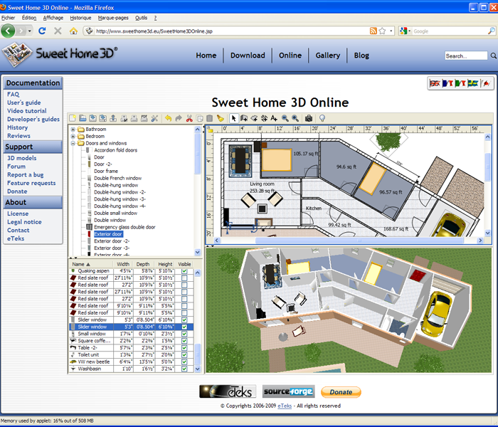 The Most Popular 3d Modeling Software: Sweet Home 3D 3.7