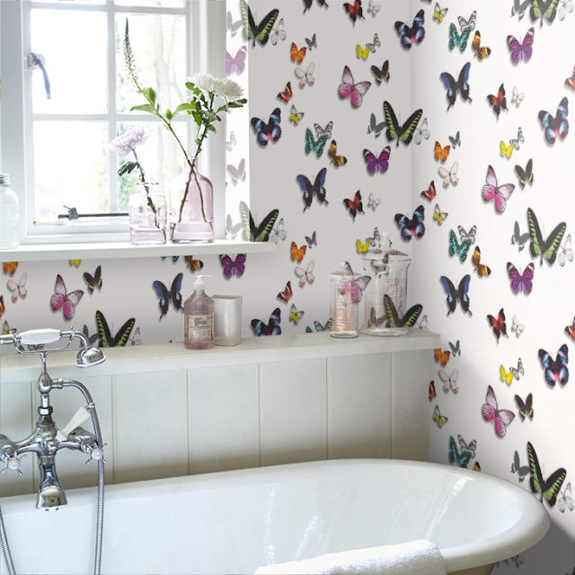 children will love a butterfly ceiling
