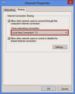 share internet connection windows