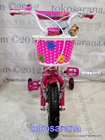 Sepeda Anak Family 12-1288 Magenta 12 Inci