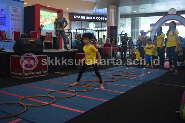 Dokumentasi Kegiatan Shine Kid Gym di Kalam Kudus Fair 2017