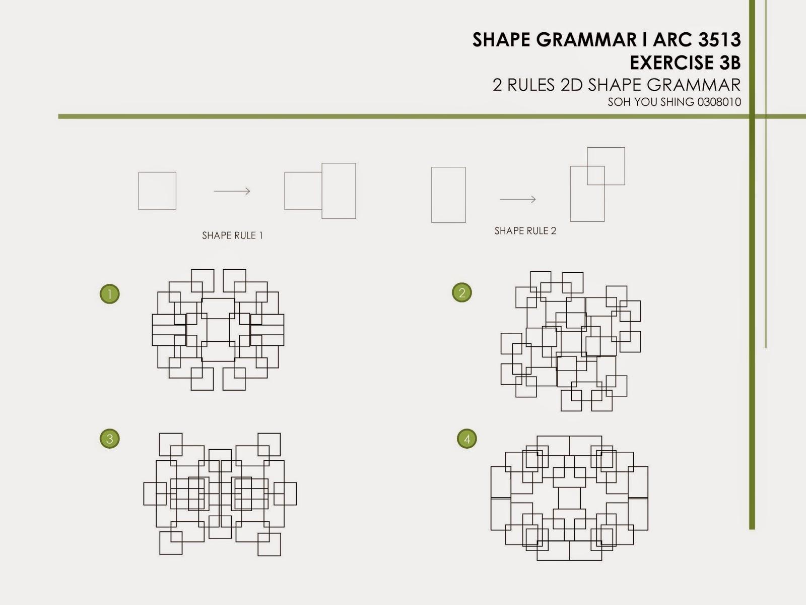Soh You Shing: Shape Grammar