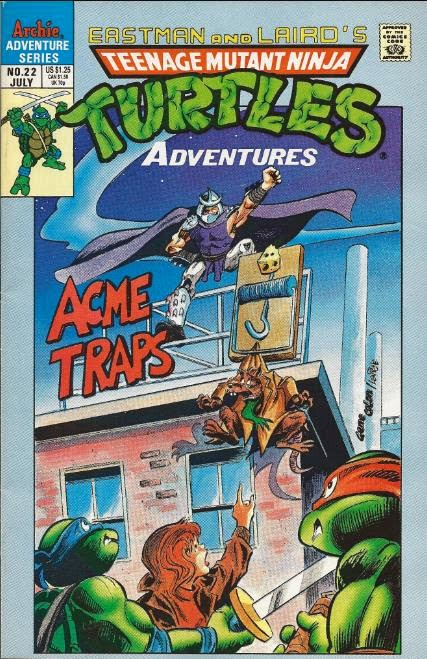 TMNT Entity: TMNT Adventures #22
