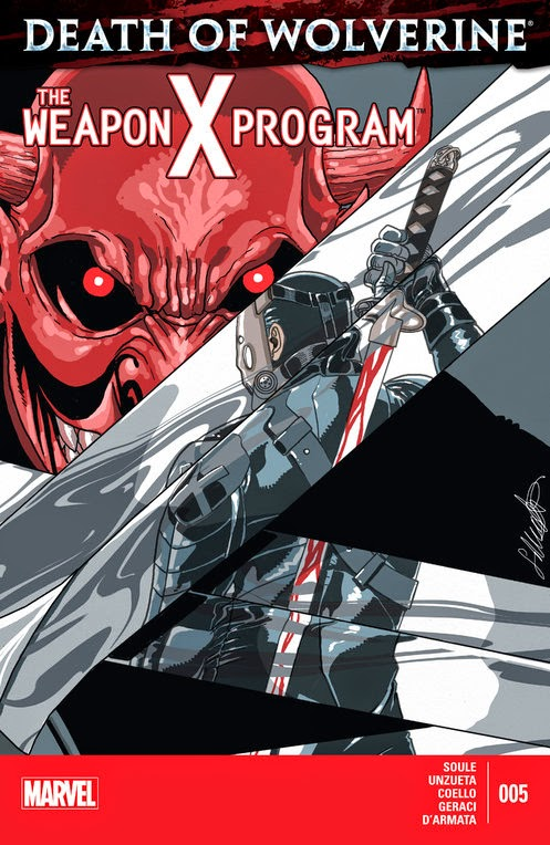 death of wolverine - the weapon x program