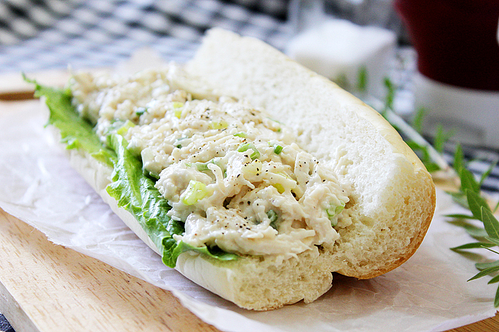 Sandwich Chicken Fillet with Mayonnaise