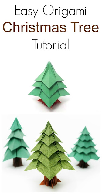 86 Easy Origami Tree Instructions Easy Origami Christmas Tree Diy