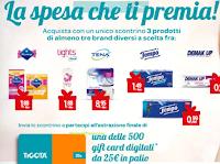 Logo Concorso ''La spesa che ti premia'': vinci 500 Gift Card Tigotà da 25€