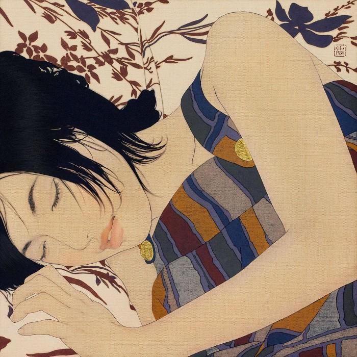 Древняя японская традиция. Ikenaga Yasunari 29