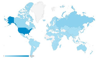 Google Analytics map