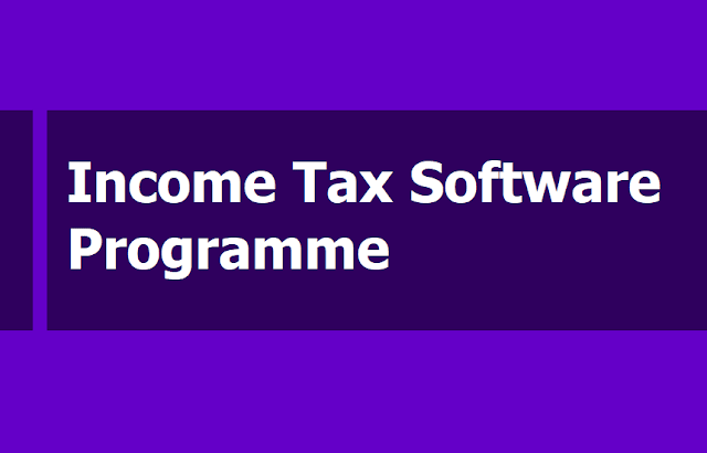 IT Income Tax Software Programme