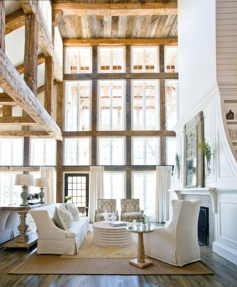 Sb consignment found favorites - Wood beams in living room ...