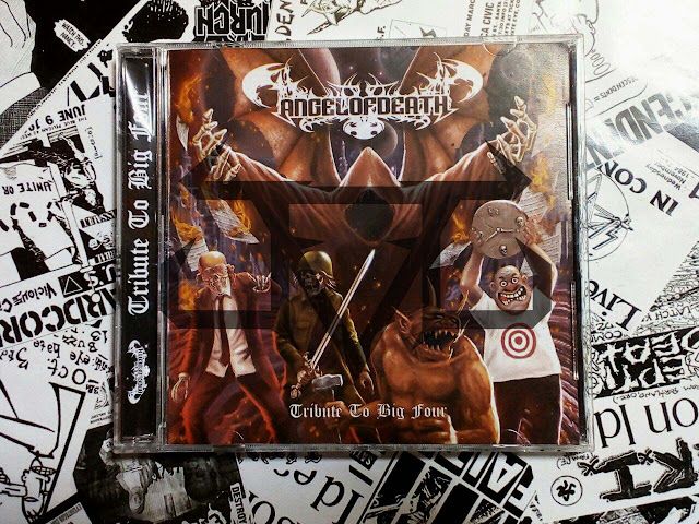 Album Review : Angel Of Death - Tribute To Big Four ( 2017 )