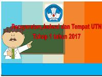 Berikut ini persyaratan,jadwal dan tempat  mengikuti Ujian Tulis Nasional (UTN) Tahap 1 tahun 2017