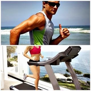 running ejercicio hombre mujer