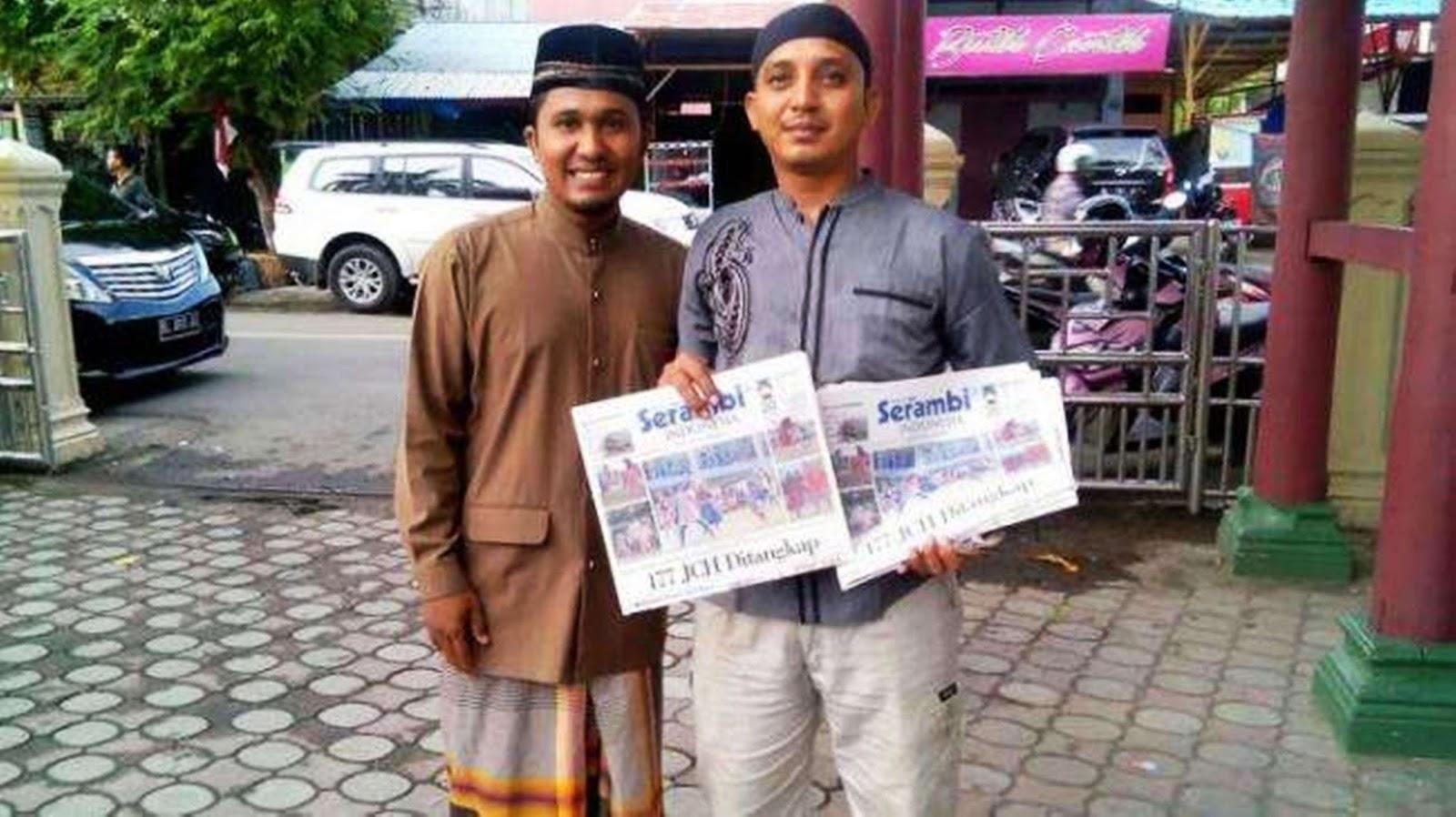 Kisah Polisi Di Aceh Brigadir Gunawan Menjual Koran Usai Salat