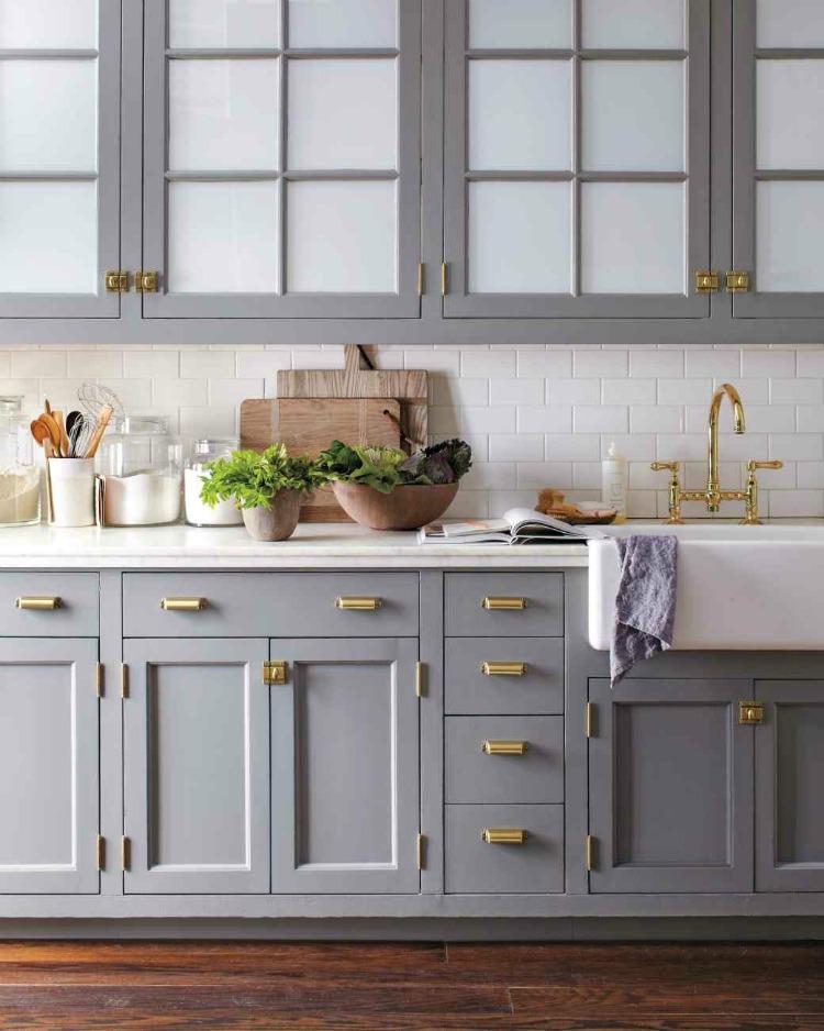 Kitchen Cabinets White On Top Gray Bottom Kitchen Cabinet Ideas